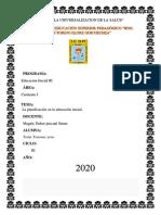 la planificacion en educacion inical pdf