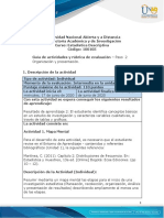 Guía de actividades y rúbrica de evaluación -Unidad 1- Paso 2