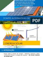 AULA 2 - FONTES ALTERNATIVAS DE ENERGIA - 28-11-17