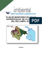 Ejemplo 1 Plan de Monitoreo Subcuenca Lampa 2019