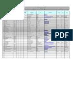 FOR-18 Lista de proveedores