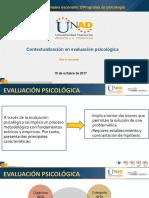 5 Contextualización en evaluaion psicologica