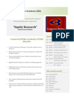 Equity Research Brochure