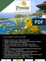 Pimalai Resort & Spa Presentation (march 2010)