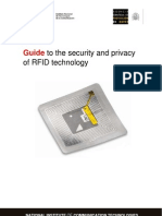 Guide to the Security and Privacy of Rfid Technology - English Version. By INTECO