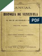 Manual de Historia de Venezuela - Felipe Tejera