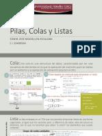 Edwin Mogollon Pilas^J Colas y Listas