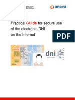 Practical Guide for Secure Use of the Electronic Dni On the Internet - English Version. By INTECO