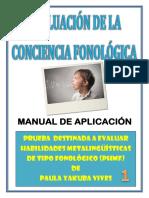 C.F. Manual de Aplicación