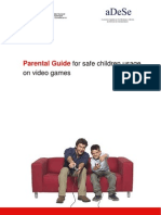Parental Guide for Safe Children Usage on Video Games. By INTECO