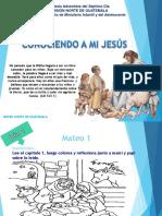 Conociendo a mi Jesús. Plan de estudio de la Biblia.