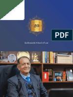 Kathmandu School of Law - Coffee Table Book