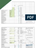B16_Special_Design Calculation_Validation sheet