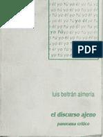 El Discurso Ajeno