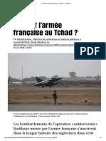 Que fait l'armée française au Tchad_ - Libération