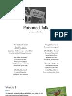 Poisoned Talk.pptx