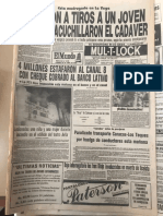 Maikel Moreno detenido en 1989 en Venezuela por sospecha en la muerte de adolescente