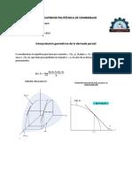 Interpretacion geometrica