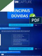 PRINCIPAIS DUVIDAS THALES - FAQ