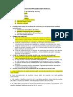 Cuestionario Auditoria Financiera segundo parcial