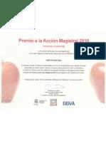 Premio a la acción magistral