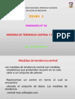 4. TESIS I -Seminario 04-Medidas de Tendencia central y dispersión