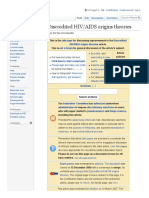 506. HIV/AIDS origins theories wiki