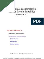 Políticas económica
