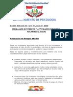 Boletín Semanal del 1 al 7 de Junio del 2020.pptx
