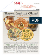 Thrown, Fired and Glazed 7-31-20 Cover Antiques & the Arts Weekly