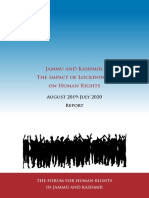 Kashmir Human Rights Report