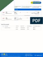 Flight E-ticket - Order ID 90564460 - 28102019