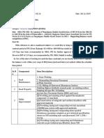 Draft letter Regarding Balance work completion Faizan khan