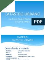 P1.- CATASTRO URBANO