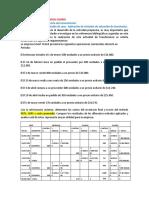ESTUDIO DE CASO VALUACION DE INVENTARIO