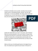 New Microsoft Office Word Cornelius Crumity Everything You Need to Know About Real Estate Investing