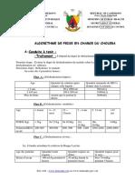 ALGORITME DE PRISE EN CHARGE DU CHOLERA