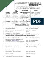 INFORMATION BULATIN FOR SCIENCE 2020-2