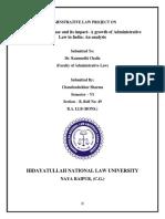 Admin law_Chandrashekhar