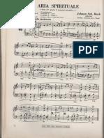 Aria spirituale Bach