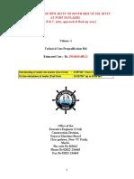 TECHNICAL CUM PREQUALIFICATION BID VOLUME-1