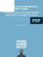 Machine Learning Mastery With Weka Sample