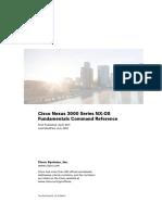 CISCO NEXUS 3000 Command References