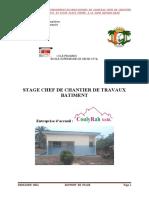 Rapport de Stage DIOMANDE INZA PDF