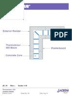 Jackon Thermomur ICF Standard Construction Details
