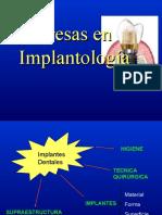 Fresas en Implantología