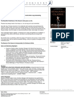 Piranesi Info sheet