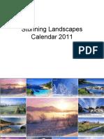 Landscapes Calendar Dine Sh Vor A