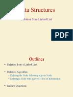 6. Linked List (Deletion)