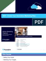 B201 Acumatica Marketing Plan Pre-Planning